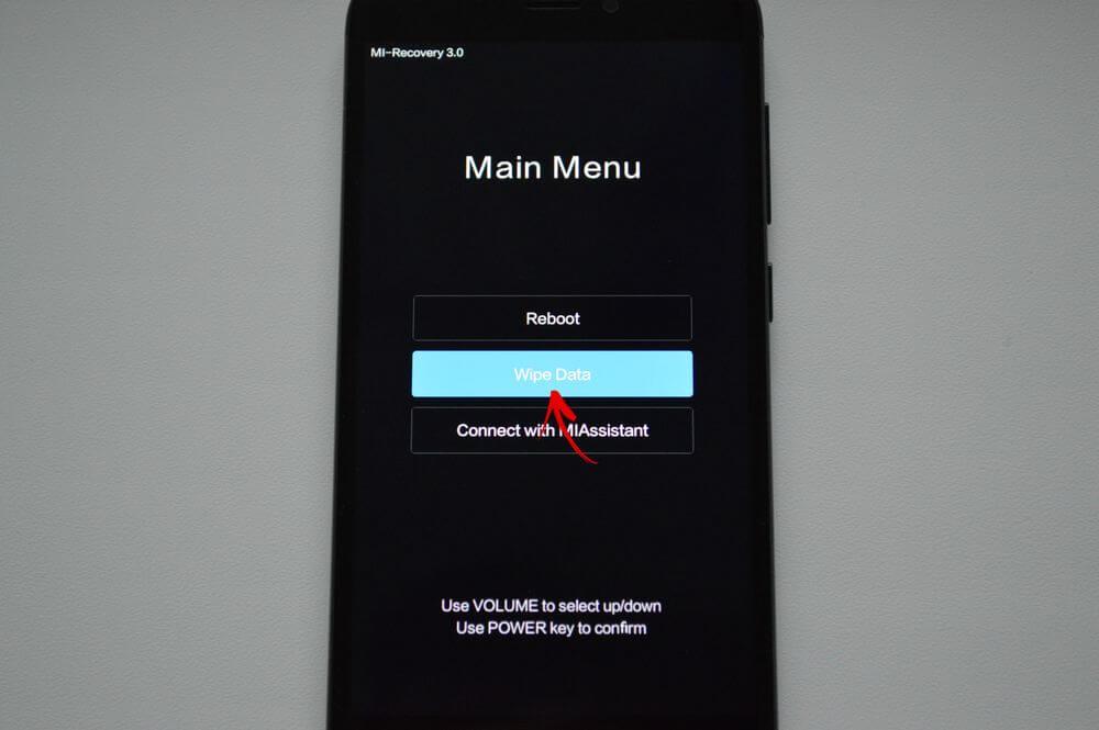 Wipe Cash Xiaomi