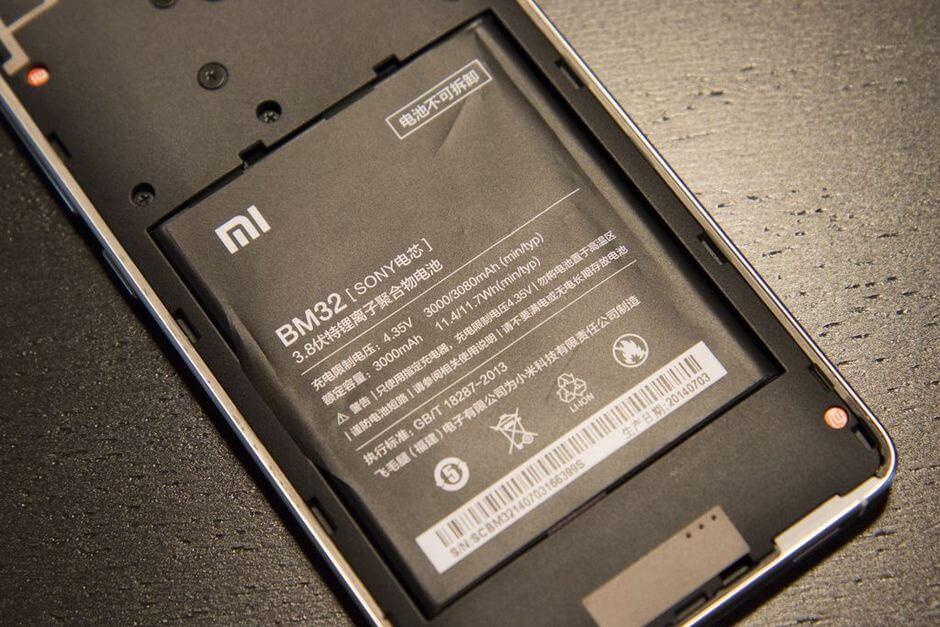 несъмная батарея на Xiaomi