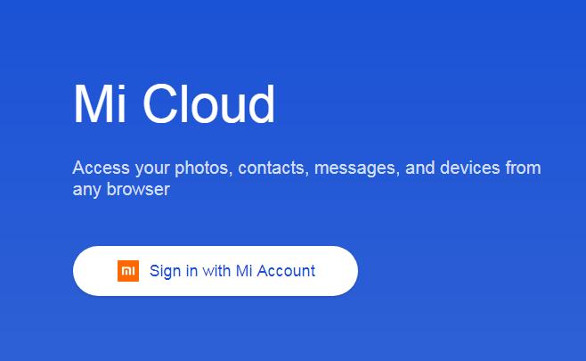 Установка Mi Cloud
