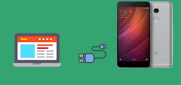 подключение сяоми смартфона к компьютеру