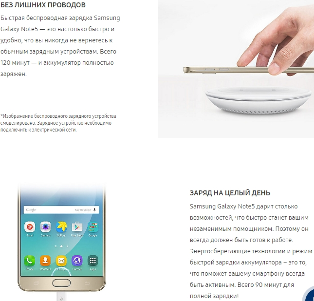 батарея Samsung Galaxy Note 5
