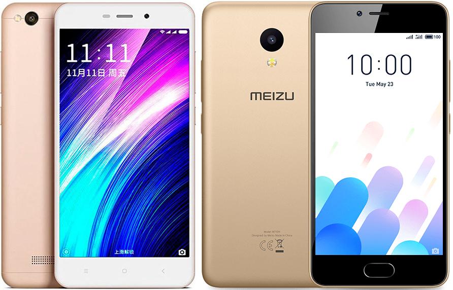 Meizu M5C и Xiaomi Redmi 4A