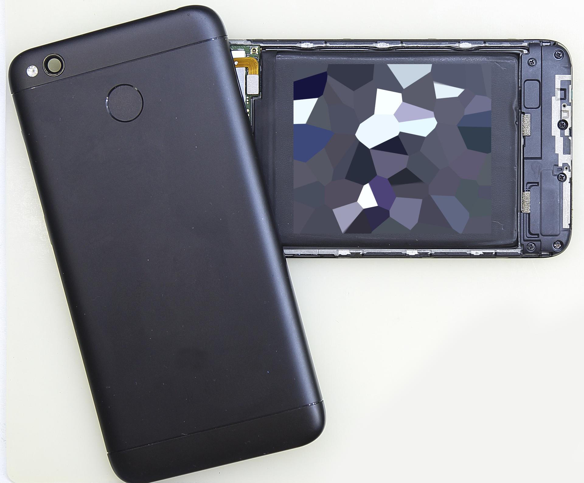 открытие задней крышки Xiaomi RedMi 4x