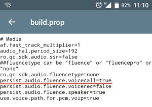 редактирование файла build.prop
