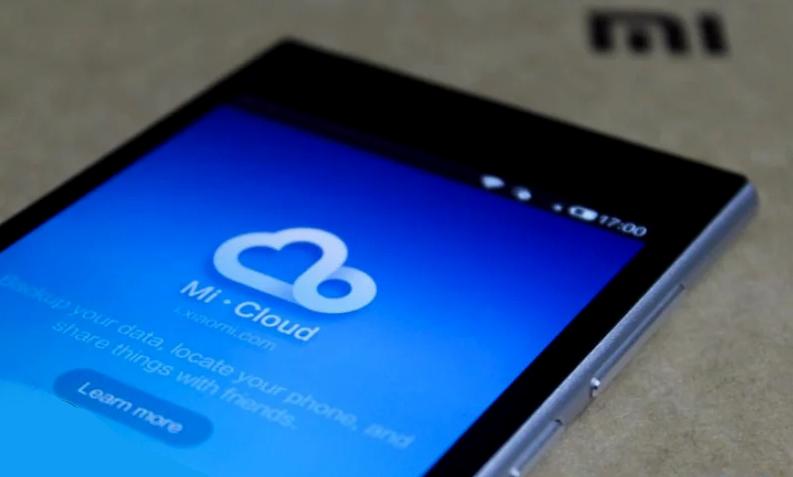 сервис Облака Xiaomi