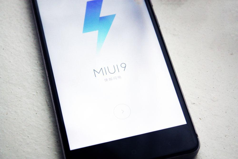 Xiaomi версия прошивки